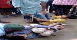 কুপ্রস্তাবে সাড়া না দেয়ায় গৃহবধূর ছেলে-ভাতিজাকে বেঁধে নির্যাতন