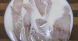 দীর্ঘদিন ফ্রিজে রাখা মাছ- মাংসের টাটকা স্বাদ ফেরাবে দুধ