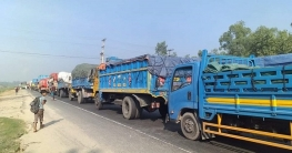 ঢাকা-টাঙ্গাইল-বঙ্গবন্ধু সেতু মহাসড়কে ৮ কিলোমিটার যানজট